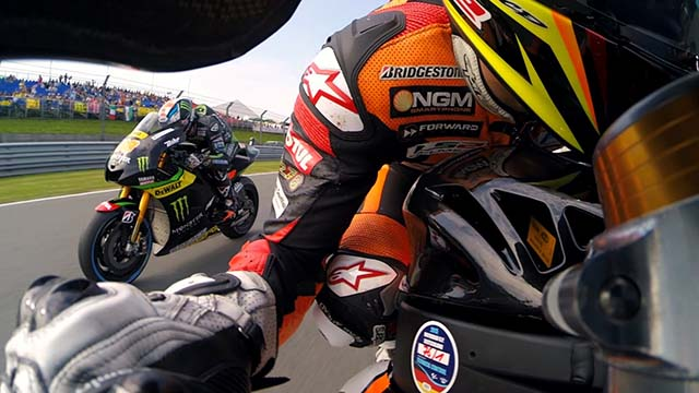 Best of GoPro de la saison 2015 de MotoGP