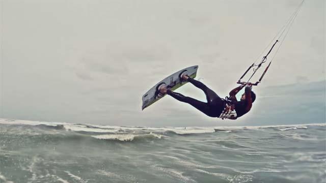GoPro : Kitesurf à Hardelot