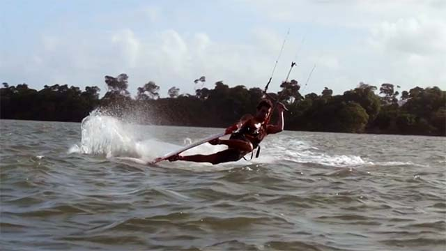 video kitesurf martinique