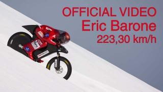 Eric Barone et son record de vitesse à VTT !