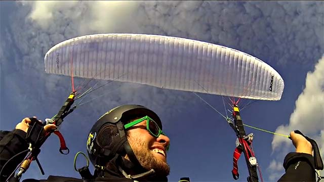 parapente acrobatique