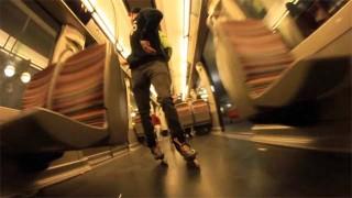 Session Roller Street dans le métro Parisien !