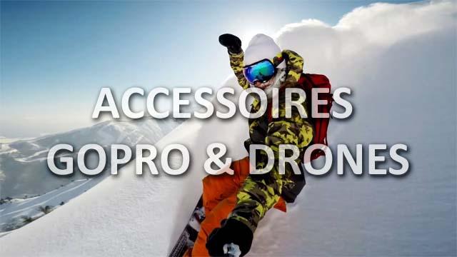 accessoires gopro drones
