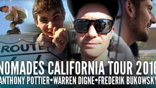 Roller Street en Californie avec Warren Digne !