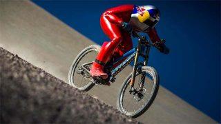 Record du monde de vitesse en descente VTT
