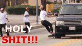 Les pires chutes de skateboard !