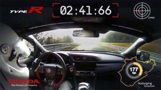Nouveau record de la Honda Civic Type-R 2017 au Nürburgring