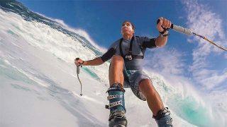 Chuck Patterson skie à Hawaï !