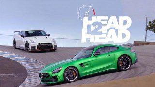 L'affrontement : Mercedes AMG GT R vs Nissan GT-R Nismo