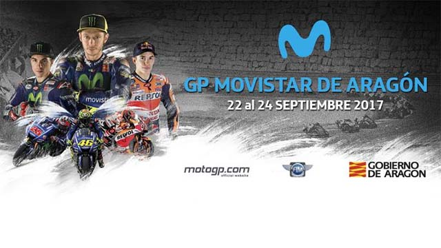 course motogp 2017 grand prix movistar aragon