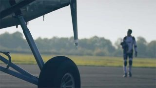 Film portrait du champion de parachutisme Sébastien Chambet
