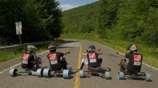 Trike drifting au Mont Sutton !
