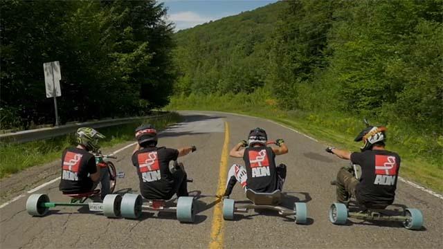 trike drifting mont sutton