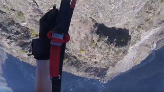 Speedflying aux 2 Alpes !